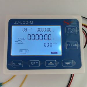 Image 2 - ZJ LCD M Display controller for Hall flow sensor total flow and set how many flow out controller