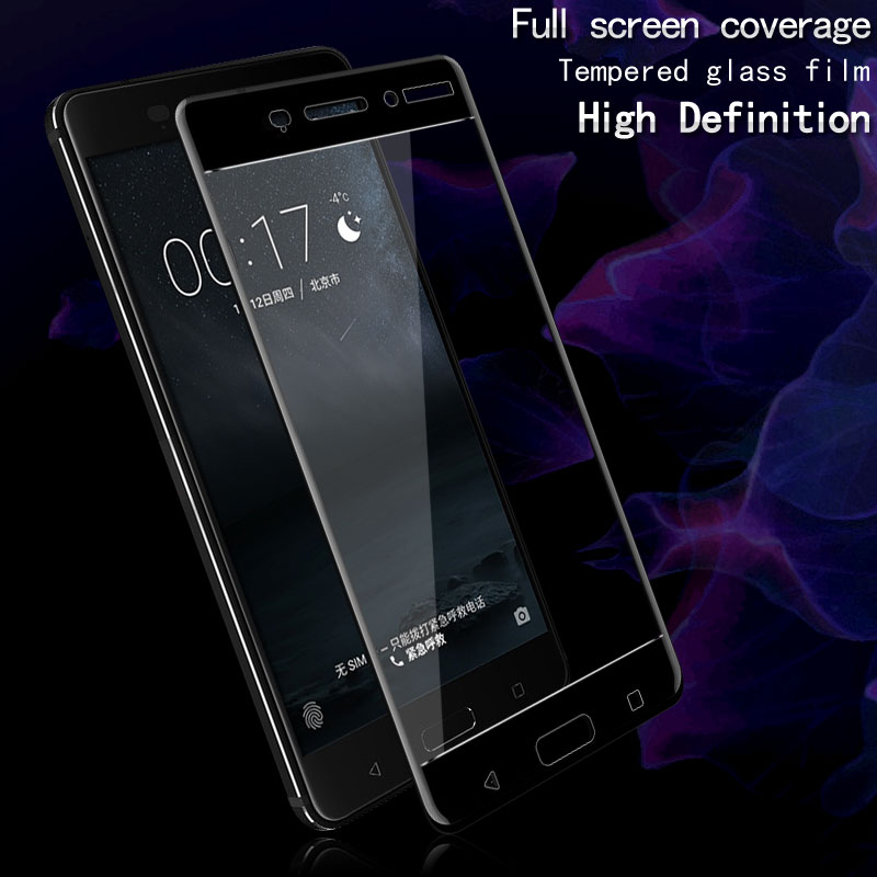 Imak Amazing 2.5D Screen Protector For Nokia 6 Full Cover Tempered Glass for Nokia 6 Nokia6 Dual Sim Protective Glass Film