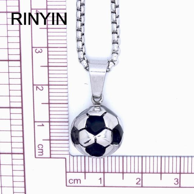 Football Memorial Pendant Necklace for Men & Women