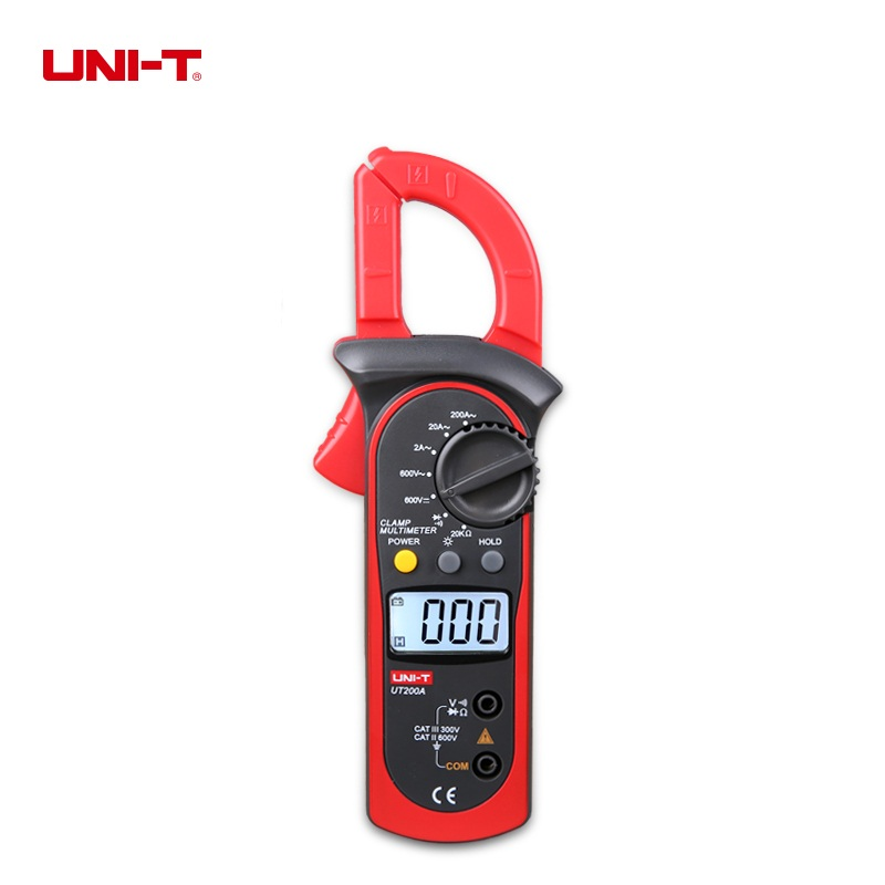 uni-t-ut200a-lcd-digital-clamp-meter-ac-current-ac-dc-voltage-resistance-tester-backlight-ohm-dmm-dc
