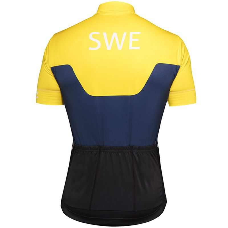 d40bb32a9 2018 Swedish National team short sleeve cycling jerseys Men s cycling  clothing MTB Bicycle clothes Bike Wear maillot cyclisme -in Cycling Jerseys  from ...