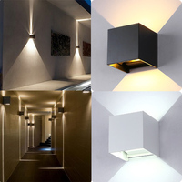 LED Waterproof Outdoor Indoor Wall Sconces Lamp Walllight IP67 Surface Mounted Cube Light CLH 8