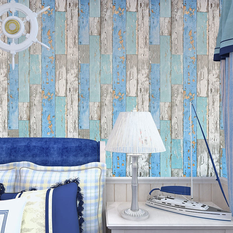 Sticky Wallpaper From The Bedroom Cabinet Furniture Renovation Stickers Wall Stick Wood Wardrobe Restoring Ancient 491z