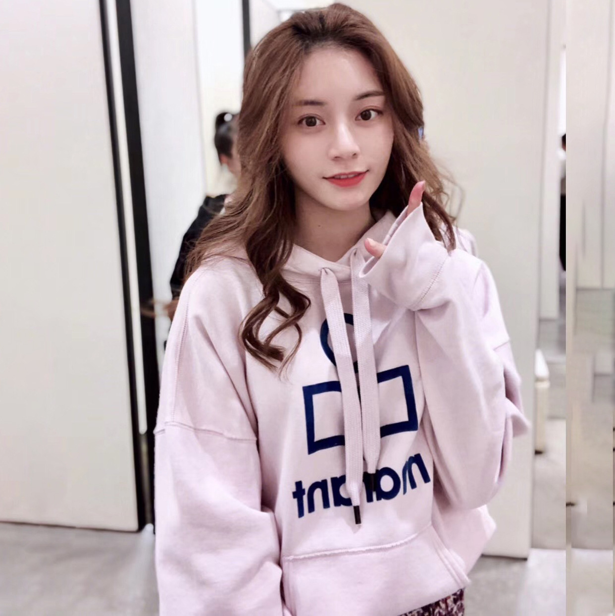 2019 Spring New Letter Printing Cap Drawing Rope Casual Sports Womens Clothing Pullovers Women Sweatshirt