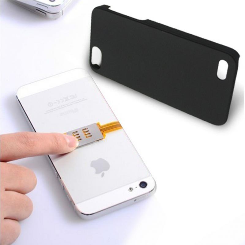 Iphone 4s Sim Karte.Us 1 75 9 Off Hohe Qualität Sim Karte Adapter Dual Sim Karte Adapter Für Iphone 5 4 S 4 Unterstützung Umts 3g Karten Und 3g Netzwerke In Hohe
