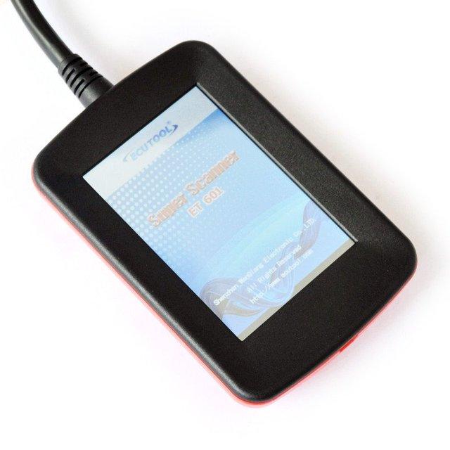 Super Scanner ET601 OBD2 EOBD Color code Scanner Free shipping