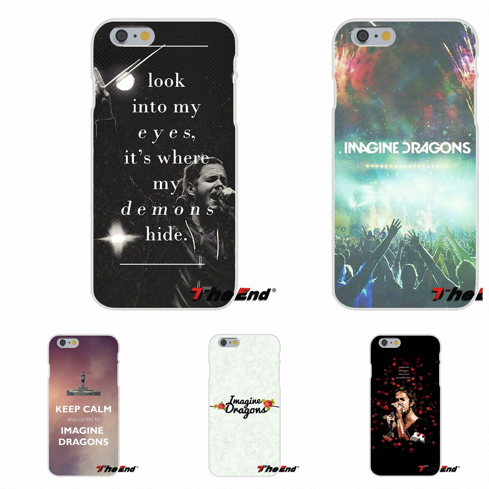 For Samsung Galaxy A3 A5 A7 J1 J2 J3 J5 J7 2015 2016 2017 Silicone Soft Phone Case Rock Band Imagine Dragons Art In Half Wrapped From Cellphones
