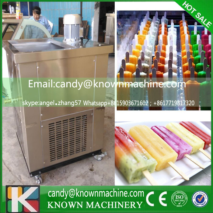 commercial Ice cream popsicle machine ice lolly machine hard ice cream machine with 1 mould (free shipping by sea) good feedback high quality machine for popsicle ice lolly machine
