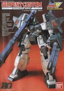 Image 1 - Bandai Gundam HG טלוויזיה 1/100 נחש CUSTOM EW 07 נייד חליפת להרכיב דגם ערכות פעולה דמויות צעצועי ילדים