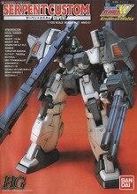 Bandai Gundam HG TV 1/100 wąż niestandardowy EW 07 mobilny garnitur montaż zestawy modeli figurki zabawki dla dzieci