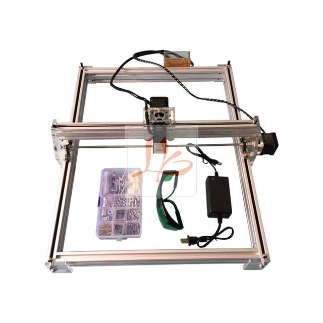 5500MW Desktop DIY Violet LY 5040 Laser Engraving Machine Picture CNC Printer 50*40CM