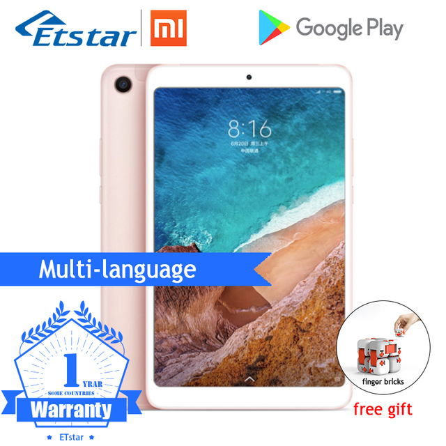 "Original Xiaomi Mi Pad 4 Plus MiPad 4 10"" PC Tablet Snapdragon 660 Octa Core Face ID 1920x1200 13.0MP+5.0MP 4G Tablet Android"