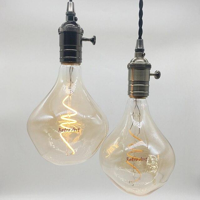 new design g125 vintage led filament bulb 4w retro industrial edison light bulb antique soft led