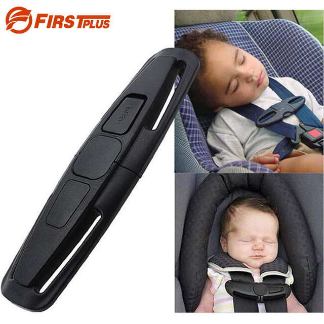 2 X Car Baby Safety Seat Belt Adjuster 5 Point Seatbelt Harness Chest Lock Clip Child
