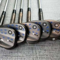 Golf Clubs SM6 Golf Wedges SM6 Wedge Set Silver/copper 50/52/54/56/58/60 Steel Shaft With Head Cover
