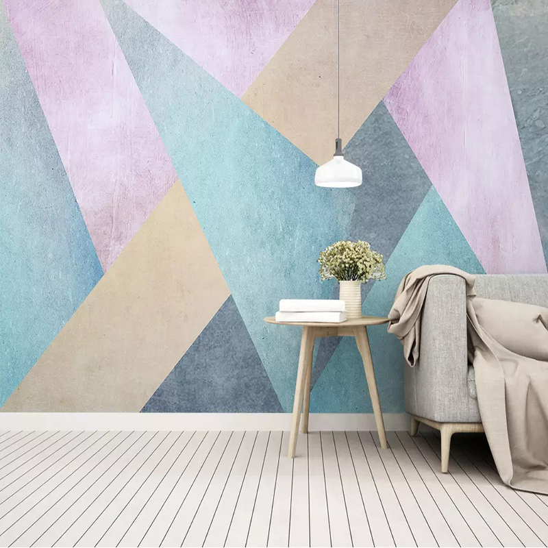 Custom Photo Wallpaper 3D Personality Abstract Geometric Murals Living Room TV Sofa Bedroom Background Wall Painting Home Decor