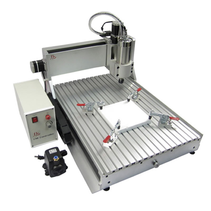 Assembled 3 axis cnc router 6090 with 1.5kw spindle, cnc engraver for metal wood acrylic cnc router wood milling machine cnc 3040z vfd800w 3axis usb for wood working with ball screw