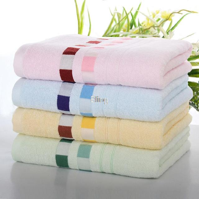 Bling Recommend Free shipping Hot Sale 4pcs/lot 140x70cm Bamboo Fiber Towel Natural & Eco-friendly Nice Soft BL008