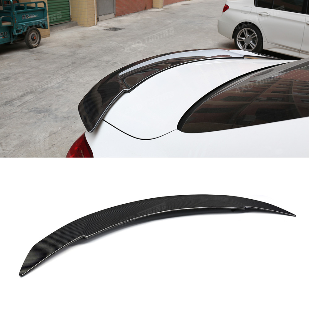 For Mercedes W205 Carbon Spoiler RT Style Sedan C Class C180 C200 C250 C260 W205 Carbon Fiber Rear Spoiler Trunk Wing 2015-2018 for mercedes w205 spoiler r style sedan c class c180 c200 c250 c260 w205 carbon fiber rear spoiler rear trunk wing styling 2014