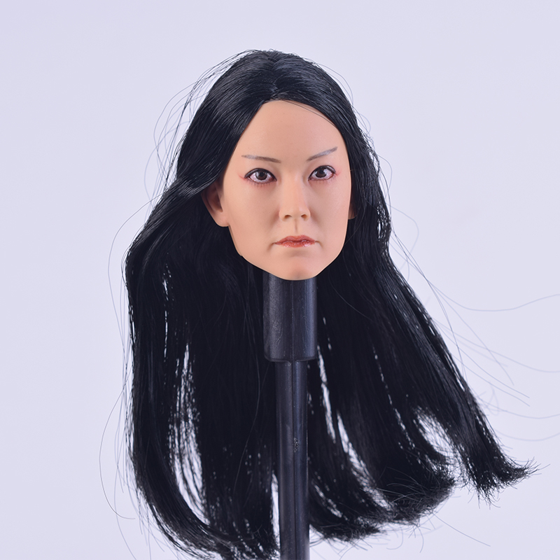 1/6 Scale Female Accessories Head 15-10 Carving Sculpt Swordsman Brigitte Lin F 12 Inch Phicen Body Figure hot toys for children