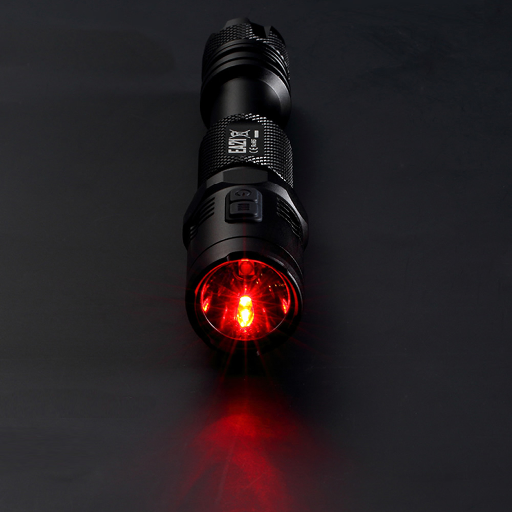 2019 NITECORE EA21 CREE LED Flashlight White Red 167 Meters Distance Waterproof Aluminum Portable Torch Travelling Free Shipping