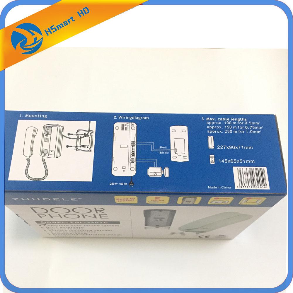 medium resolution of aliexpress com buy wired two way intercom home security system audio doorbell doorphone from reliable audio doorphone suppliers on hsmart security store