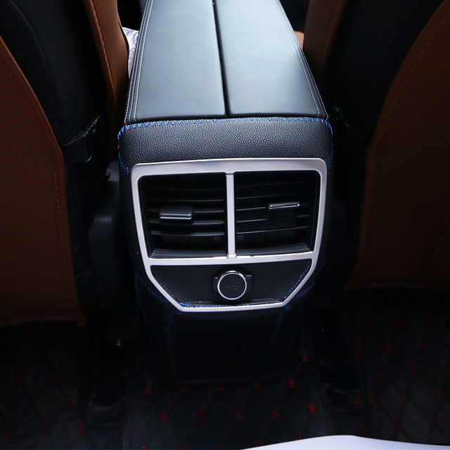 fit für 2017 peugeot 5008 3008 gt zubehör edelstahl auto hinten