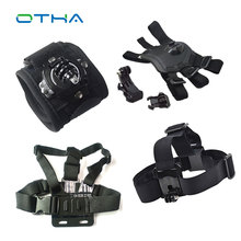 Action Camera Gopro Accessories Headband Chest Head Strap For Go pro Hero 3 3 4 SJ4000