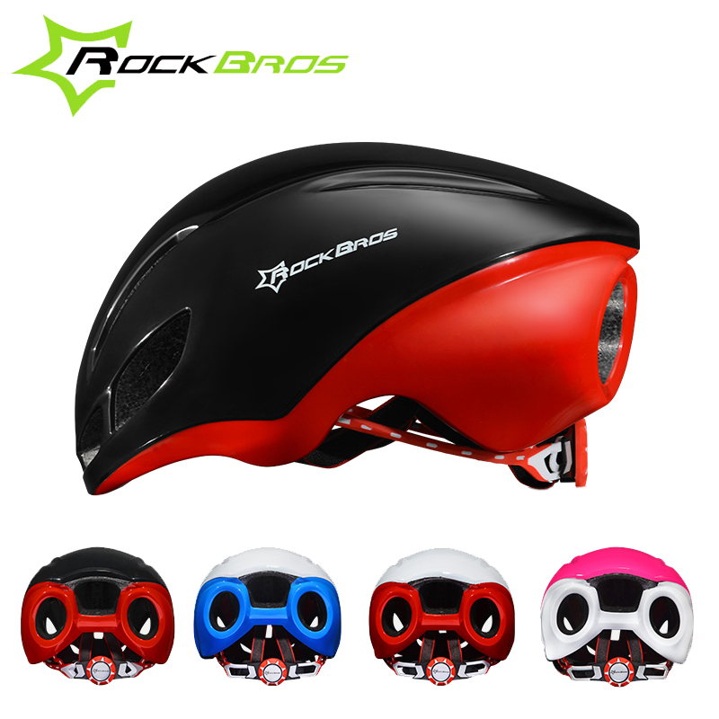 ФОТО RockBros PRO Cycling Helmets Men Women 4 Color EPS Quick Speed Jet-propelled MTB Road Bicycle Bike Helmets Accessories Parts