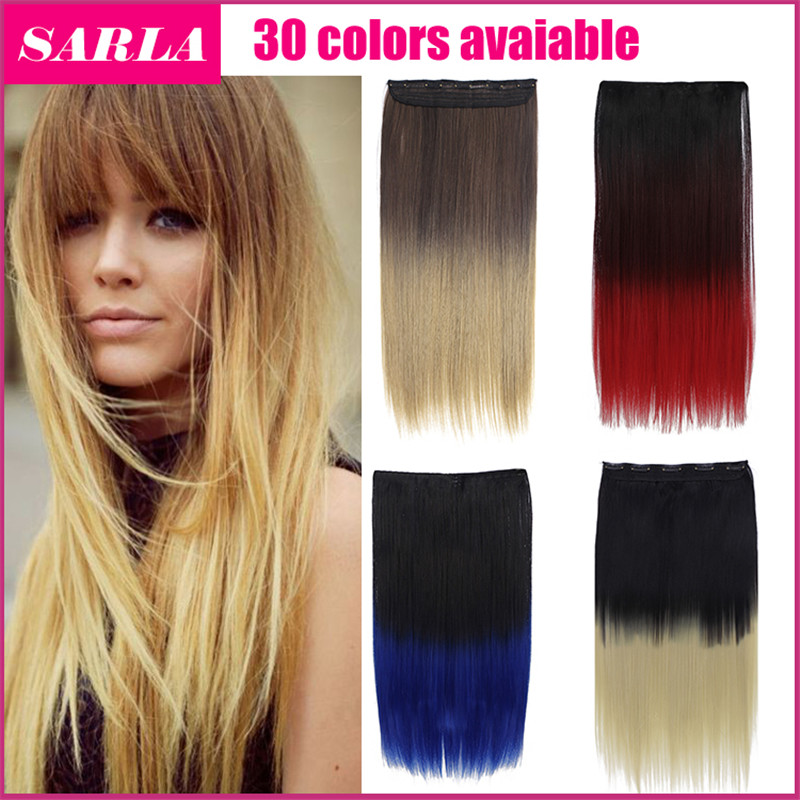 1pc clip in ombre hair extensions 60cm 24inch 2 tones natural 1pc clip in ombre hair extensions 60cm 24inch 2 tones natural hairpiece natural synthetic hair extension gradient hair 666 on aliexpress alibaba group pmusecretfo Choice Image