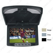 9″ Flip Down TFT LCD Monitor Car Monitor Roof Mounted Monitor 2-Way Video Input 3-Color For Choice #FD-1282