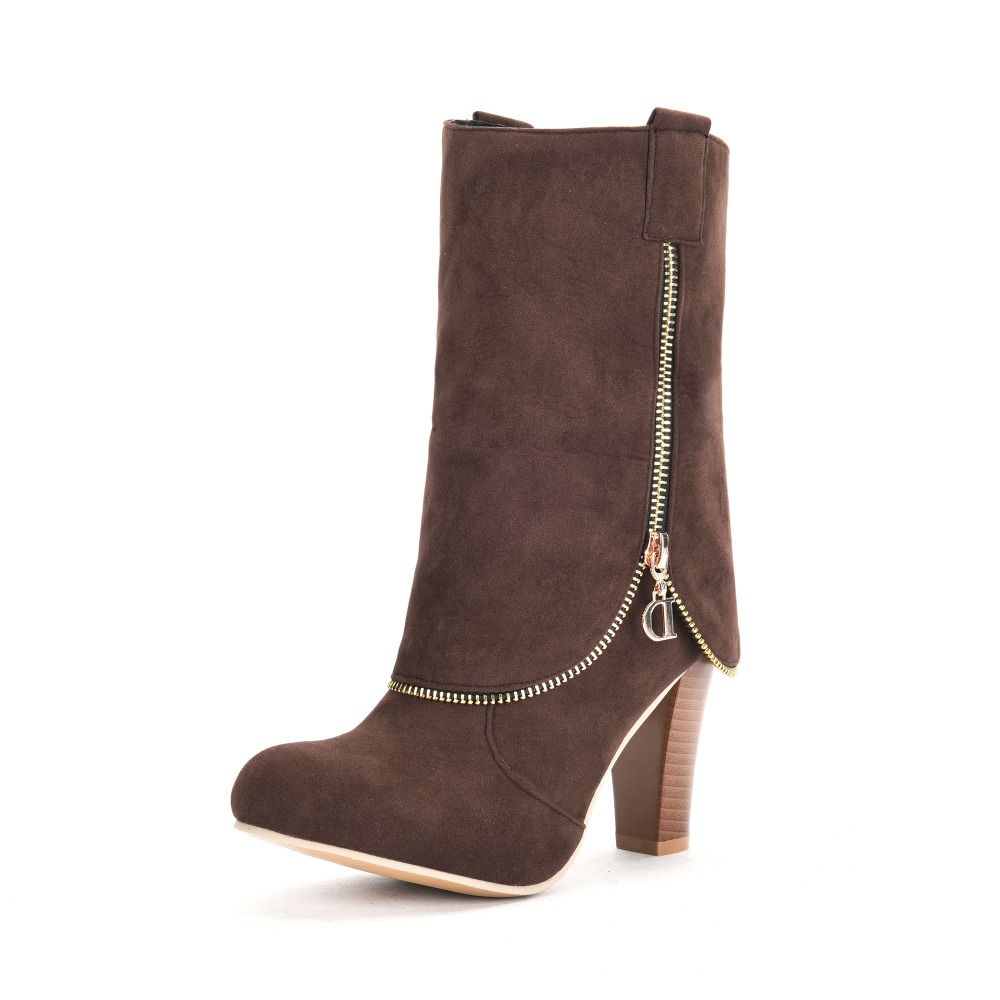 Pink High Heel Boots Promotion-Shop for Promotional Pink High Heel ...