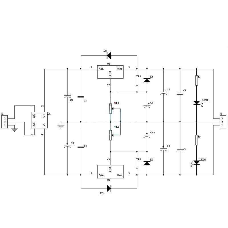 Adjustable Regulated Power Supply