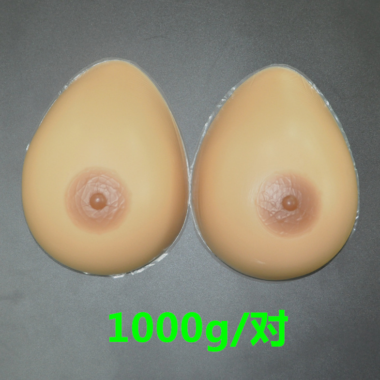 ФОТО 1000g a pair D Cup Silicone False Breast Boobs Forms Transvestites Enhancer Insert crossdresser silicone breasts peito