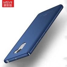 Original MSVII Brand For Xiaomi Redmi 4 pro prime phone case Silicone scrub cover Luxury Hard Frosted PC Redmi NOTE 4X 3S 3 4 4C