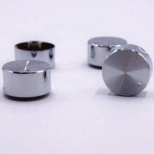 4 шт., высокое качество, поворотный переключатель, части газовой плиты, ручка газовой плиты, круглая ручка из нержавеющей стали для газовой плиты