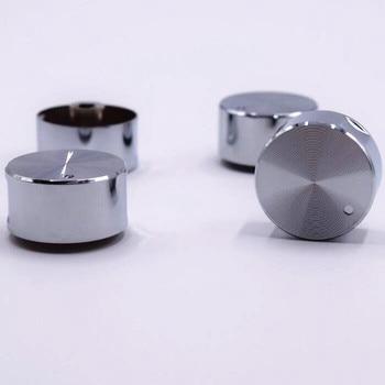 4 pcs haute qualité interrupteur rotatif cuisinière à gaz pièces cuisinière à gaz poêle bouton en acier inoxydable bouton rond bouton pour cuisinière à gaz