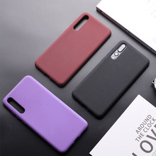 Ultra-Thin Matte Cases For Huawei P20 P10 P9 Mate 10 20 Pro Lite P Smart Case Honor 7C 7X 8 8X 9 9i Lite 10 Cover Soft Silicone(China)