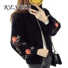 Kesebi 2018 Autumn Winter New Fashion Women Long Sleeve Thick Short Loose Sweaters Female O neck