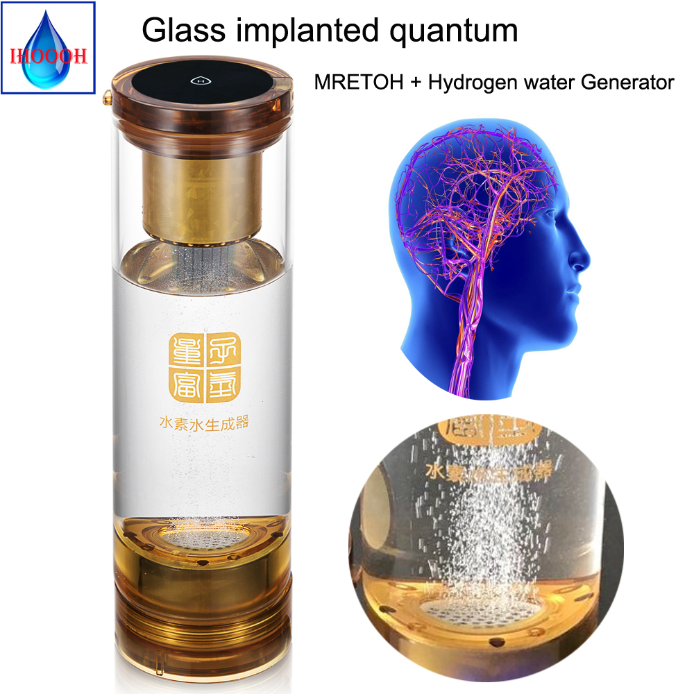 Hydrogen water generator and MRETOH 7.8Hz/Molecular Resonance Effect Technology and Implantation quantum cup factory Outlet