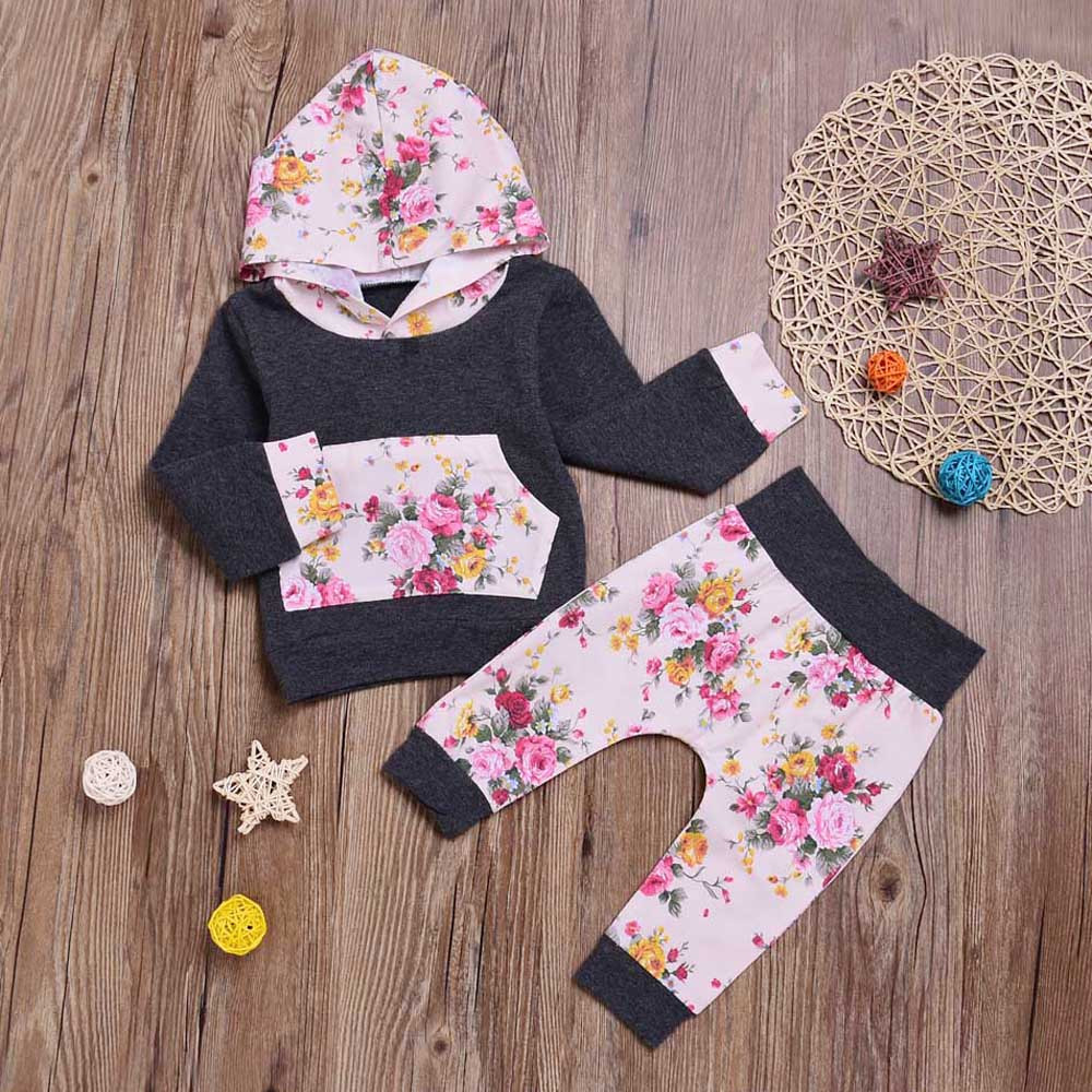Hot Sale 0-18m Infant Newborn Baby Boy Girl Short Sleeve Cotton Bodysuit Tops Long Pant Headband 3pcs Outfits Baby Clothing Set Girls' Baby Clothing Mother & Kids