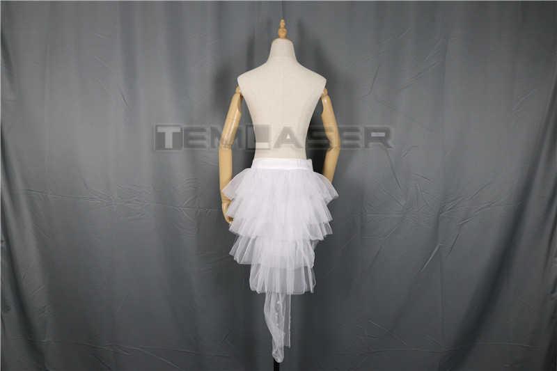 Модная танцевальная светодиодный юбка-пачка неоновая необычная Радужная мини-пачка маскарадный костюм Взрослый светильник юбка TFS Корсетная юбка-пачка
