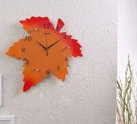40x40 센치메터 기하학적 만화 벽 시계 어린이 방 소박한 자동 시계 아이 방 벽 시계