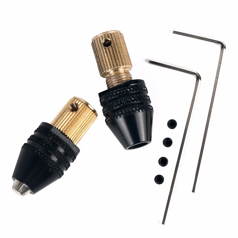 Tool Accessories 2.0mm Electric Motor Shaft Mini Chuck Fixture Clamp 0.3mm-4mm Small To Drill Bit Micro Chuck Fixing Device