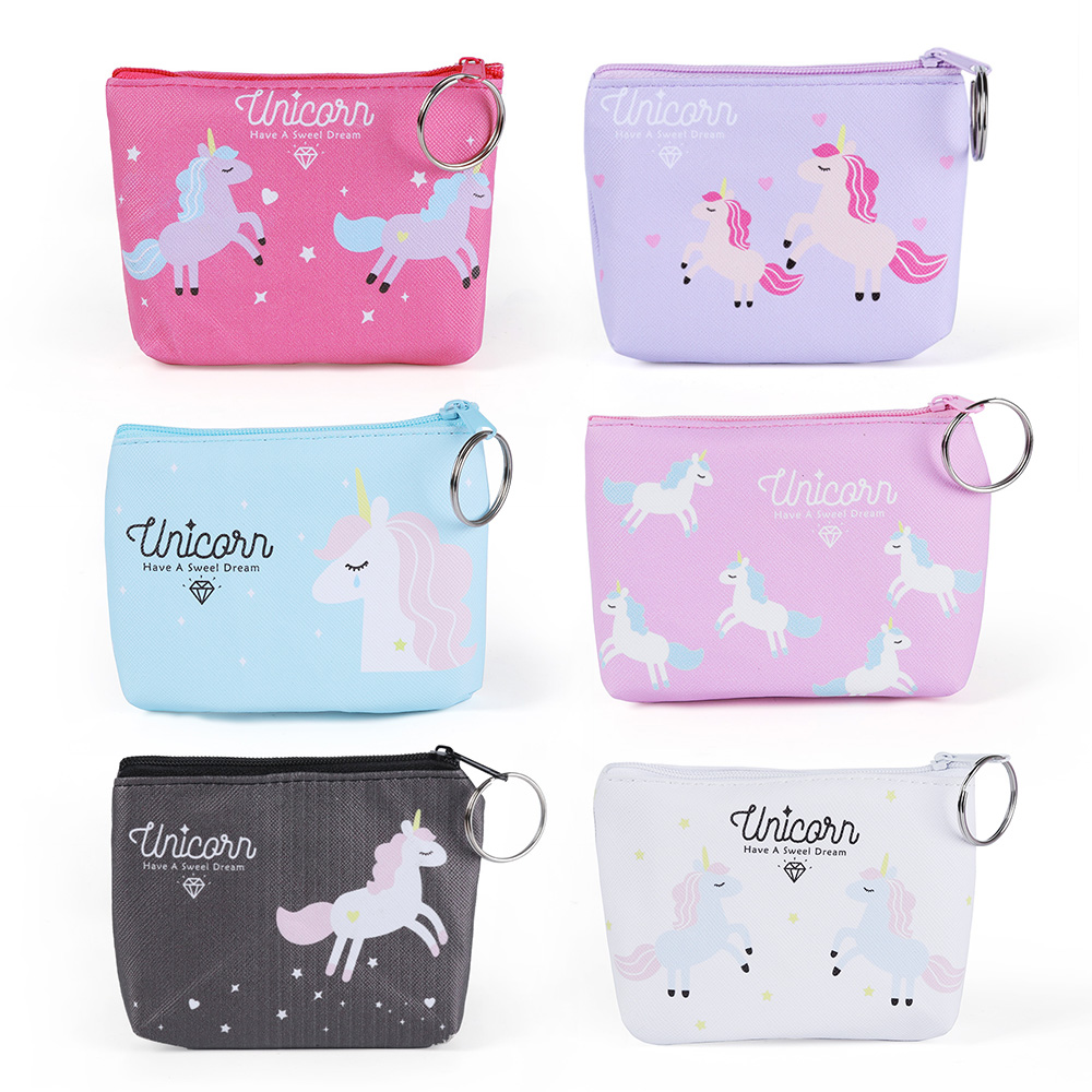 Cute Women Girl Coin Purses Holder Kawaii Animal Unicorn Women Mini Change Wallets Money Bag Coin Bag Children Zipper Pouch GiftCute Women Girl Coin Purses Holder Kawaii Animal Unicorn Women Mini Change Wallets Money Bag Coin Bag Children Zipper Pouch Gift