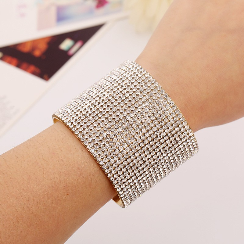 4 pieces Colorful Leather Bangle Pave Crystal Rhinestone Natural Fresh Water Pearl Cuff Jewelry Bracelet BG169