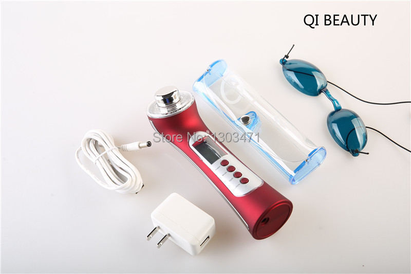 Free Shipping 5 in 1 4 colors photon Beauty facial massager,Skin Face Care,beauty health care electric beauty products anti acne pigment removal photon led light therapy facial beauty salon skin care treatment massager machine