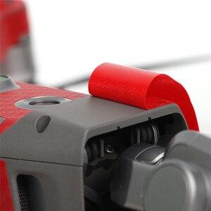 Image 4 - Pvc grão de carbono adesivos pele para dji mavic 2 pro & zoom drone decalque bateria remoto braço envoltório