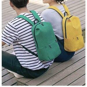 Image 3 - Oryginalny Xiao mi kolor mały plecak 10L duża pojemność torba przeciw wodzie mi 8 miłośników kolorów para plecak dla studenta Younth Man