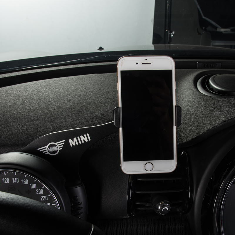 Car Mobile Phone <font><b>Holder</b></font> Mount Rotatable Smartphone GPS <font><b>Holder</b></font> For BMW <font><b>MINI</b></font> Cooper S JCW F54 F55 <font><b>F56</b></font> Interior Accessories styling image